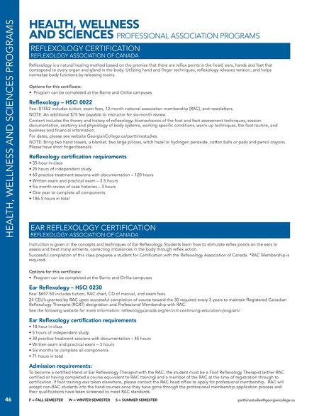 Georgian College - 2016/2017 Part-time Studies Guide - June 2016