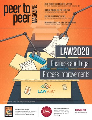 Law2020: Business and Legal Process Improvements (Summer 15)