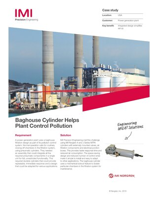 Baghouse case study