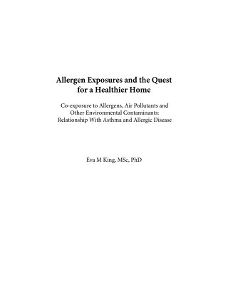 King_Allergen Exposures and the Quest for a Healthier Home