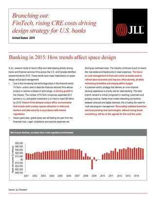 Branching out: FinTech, rising CRE costs driving design strategy for U.S. banks [WHITE PAPER]