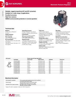 05 - IMI Norgren Proportional Pressure Control