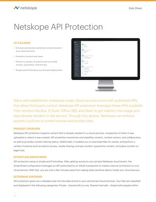 Netskope API Protection