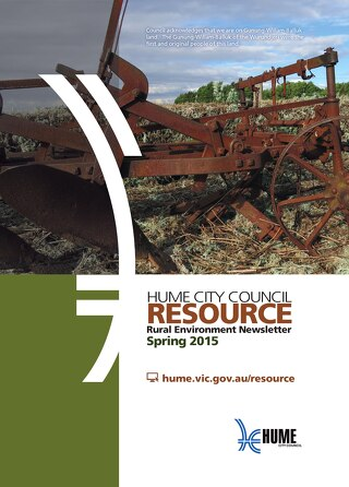 Resource Newsletter - SPRING 2015