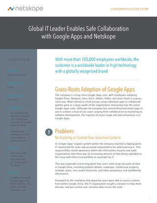 Google Apps - Global IT Leader