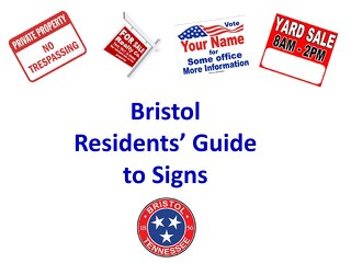 Bristol Residents' Guide to Signs