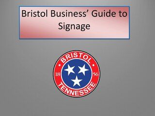 Bristol Business' Guide to Signage Flipbook
