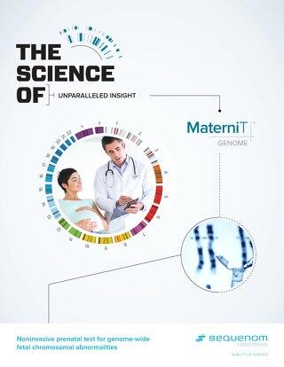 MaterniT GENOME Provider Brochure Aug 2015