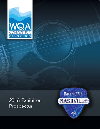 WQA Convention Exposition 2016 Prospectus