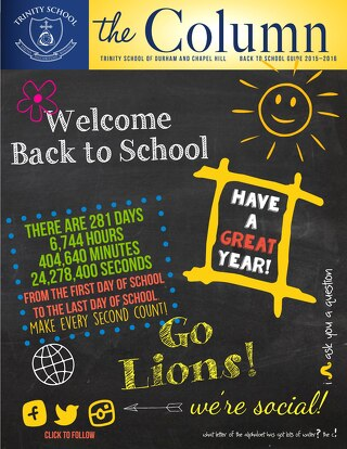 2015-2016 Back to School Column