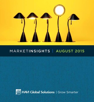 HAVI MarketInsights August 2015