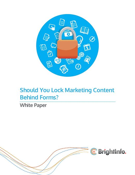 Should You Lock Content Marketing Behind Forms