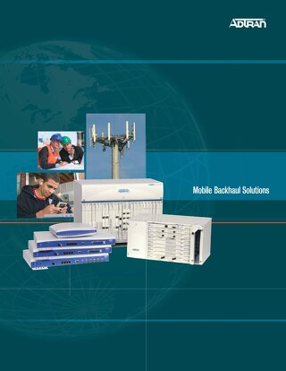 Adtran Mobile Backhau Solutions Brief