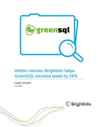 BrightInfo: GreenSQL Case Study