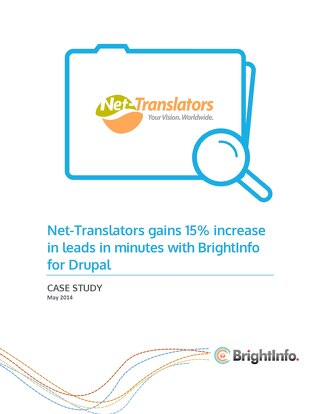 BrightInfo: NetTranslators Case Study