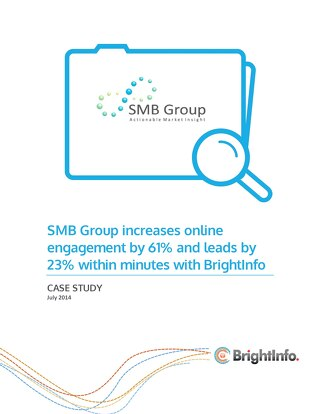 BrightInfo: SMB Group Case Study