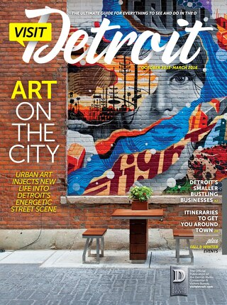 Visit Detroit Fall 2015 & Winter 2016