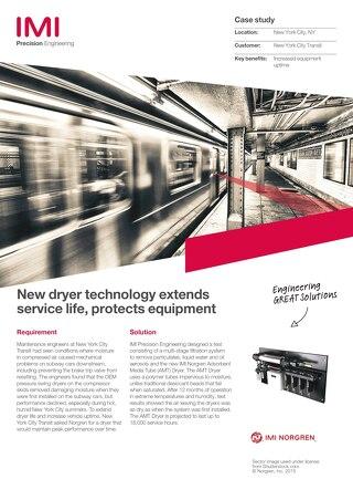 AMT Dryer case study