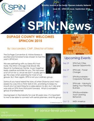 September 2015 SPiN News
