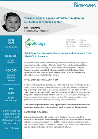 Apptology [Bizness Apps Case Study]