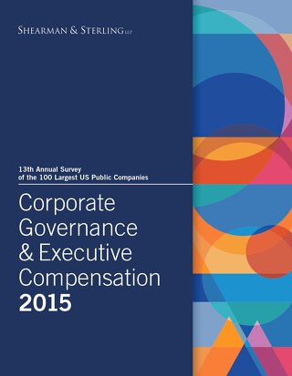 2015 Corporate Governance & Executive Compensation Survey