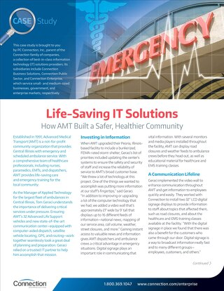 Life-Saving IT Solutions
