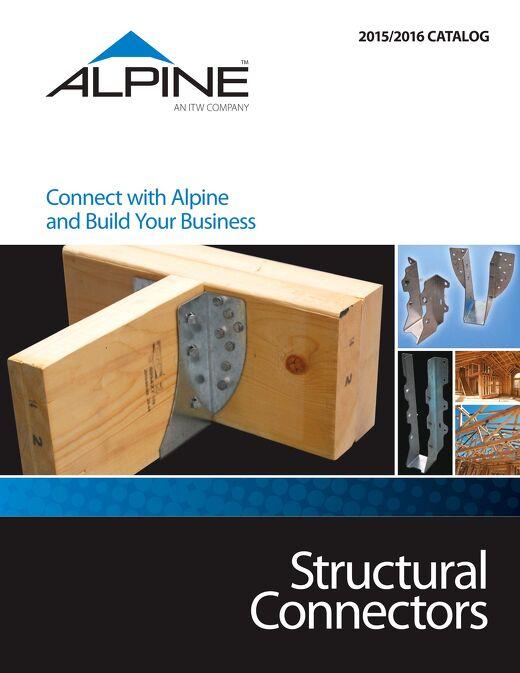 Structural Connectors Catalog 2015-2016