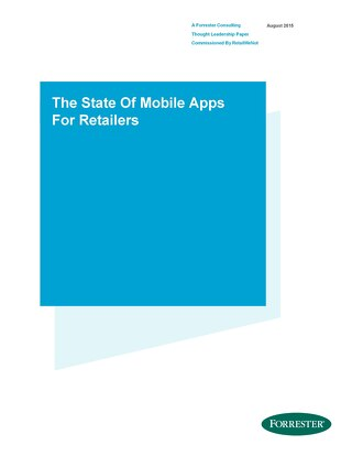 The State of Mobile Apps for Retailers