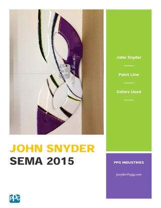 2015 SEMA Booth Artists