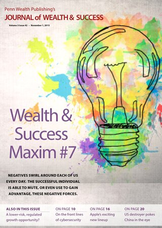 2015.11.01 Journal of Wealth & Success Vol 3 Issue 42