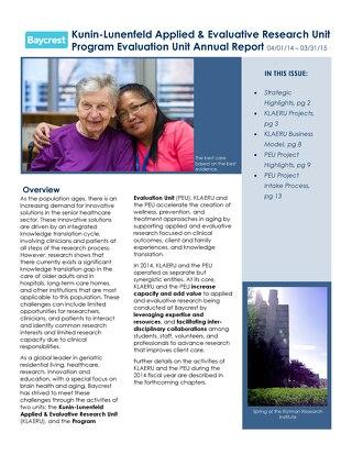 KLAERU Annual Report 2014-2015