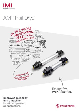 z8148BR - AMT Rail Dryer Brochure