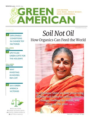 Green American #104, Winter 2015