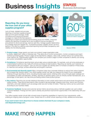 Do You Know the True Cost of Your Office Supply Program?