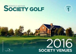 Society Golf - Issue 1