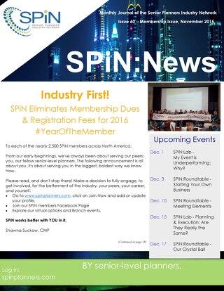 November 2015 SPiN News