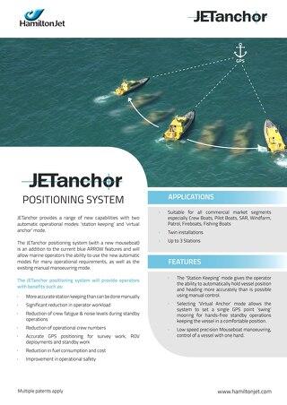 JETanchor Positioning System Brochure 2015
