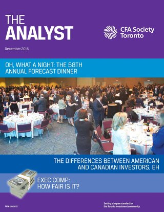The Analyst - December 2015