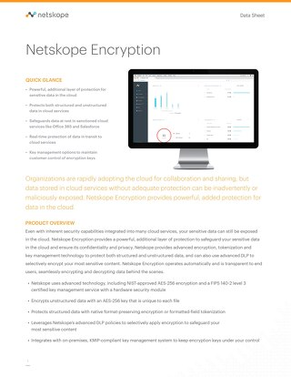 Netskope Encryption