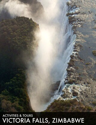 Victoria Falls activities Zimbabwe 2019