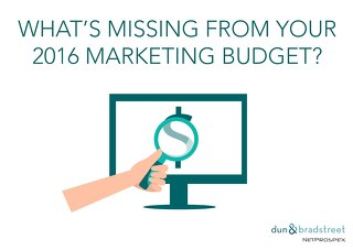 What's Missing from Your 2016 Marketing Budget?