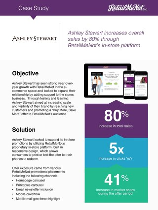 Ashley Stewart Case Study
