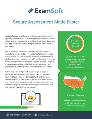 ExamSoft_Security_OnePager