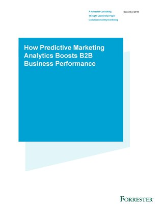 How Predictive Marketing Boosts B2B Business Performance