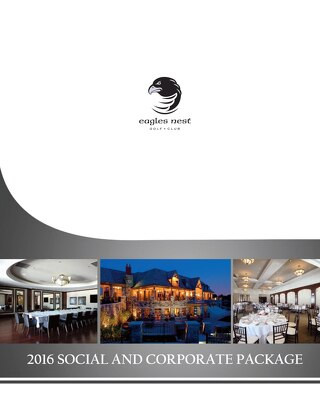 2016 Social and Corporate Package