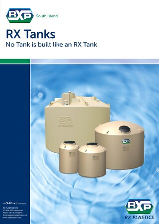 RX Tanks South Island Brochure