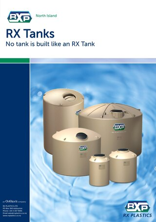 RX Tanks North Island Brochure