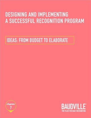 Ideas from Budget to Elaborate