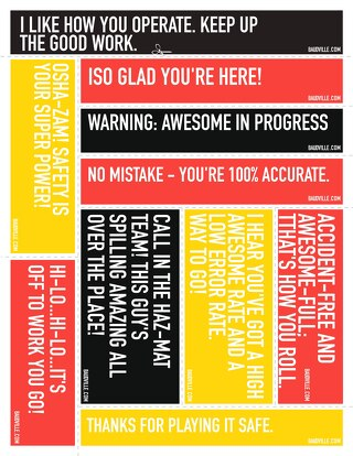 Safety Appreciation Print-n-Post