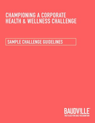 Health & Wellness Challenge: Sample Points Tracking Sheet